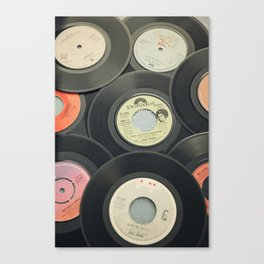 Sounds of the 70s II Canvas Print