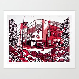 Tokyo 2008 Art Print