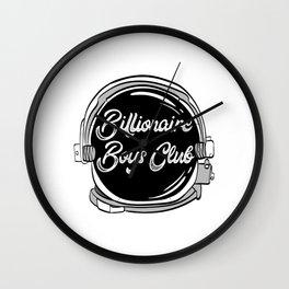 Are You A Fan Of Astronomy? An Astronaut Dreamer? Astronaut Helmet Billionaire Boys Club T-shirt Wall Clock