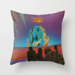 Sanctum at Seaway Throw Pillow