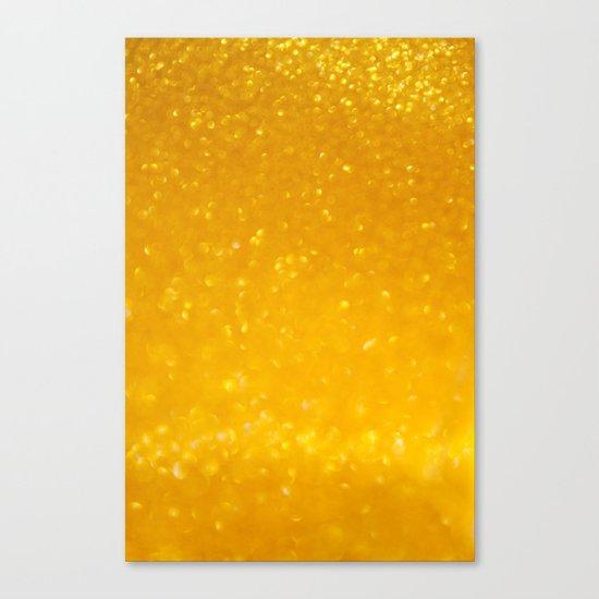 Golden lights Canvas Print