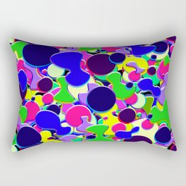 Blob Art: Blob of Blobs Rectangular Pillow