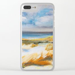 The Dunes in Ostend Clear iPhone Case