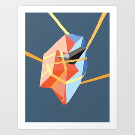Held in Place Art Print
