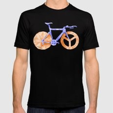 TT Bike Mens Fitted Tee Black LARGE
