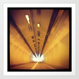 Tunnel Series- 2 Art Print