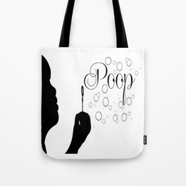 Poop Bubbles Tote Bag