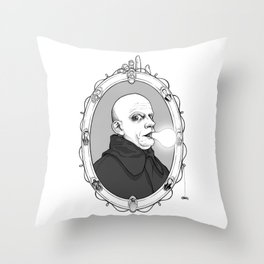 Uncle Fester Throw Pillow