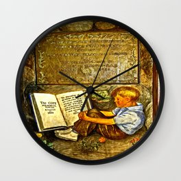 The Coit Memorial Tower Wall Clock