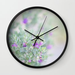 Arizona Sage 2 Wall Clock