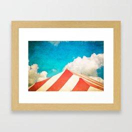 Under the Big Top Framed Art Print