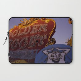 Golden Nugget Sign Laptop Sleeve