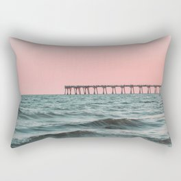 Pink Ocean Rectangular Pillow