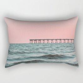 Pink Ocean Rectangular Pillow