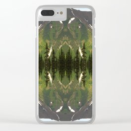 Dease Lake Dreams Clear iPhone Case