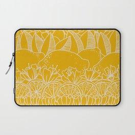Sunshine Lemonade Garden Laptop Sleeve