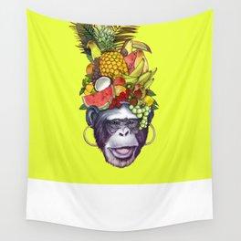 Carmem monkey Wall Tapestry