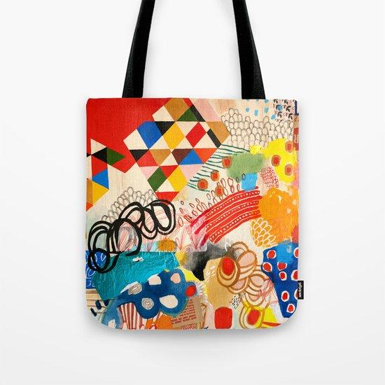 Wallpaper and Diamonds Part I Tote Bag