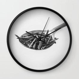 Lex Talionis Wall Clock
