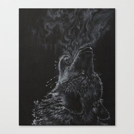 Wolf - The Uneasy Chill Canvas Print