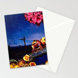 Early Morning Stars Stationery Cards