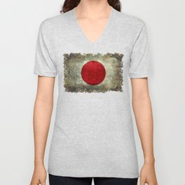 The national flag of Japan Unisex V-Neck