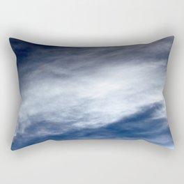 Sky Clouds Rectangular Pillow