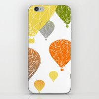 balloons iPhone & iPod Skins featuring BALLOONS by ARCHIGRAF