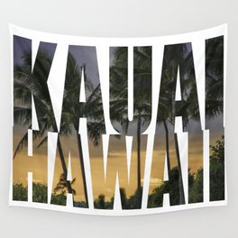 Kauai Hawaii Wall Tapestry