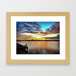 Lake View. Framed Art Print