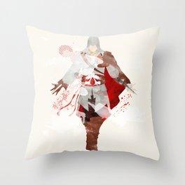 Assassins Creed: Ezio Auditore da Firenze Throw Pillow