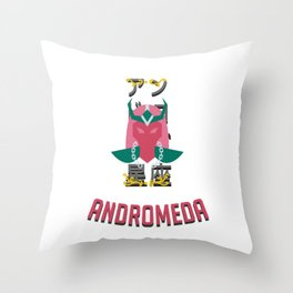 The Saintof the Andromeda Throw Pillow