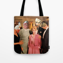 Mask Party Tote Bag