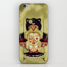 Hanging from Above iPhone Skin