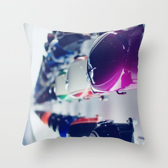 Museum Throw Pillow