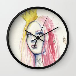 The Paperback Princess Wall Clock
