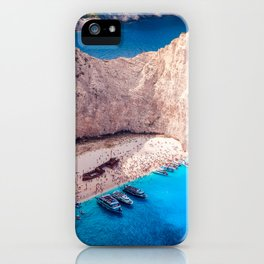Shipwreck bay iPhone Case