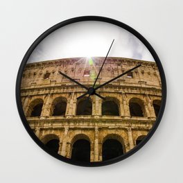 Colosseum Wall Clock