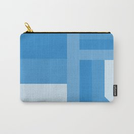 stripes pattern 9 geometric wb Carry-All Pouch
