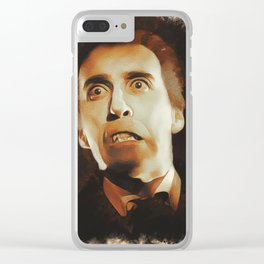 Christopher Lee as Dracula Clear iPhone Case