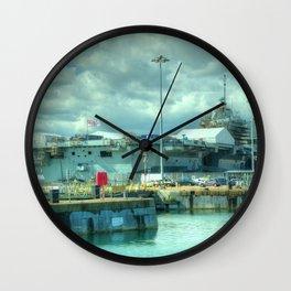 HMS Queen Elizabeth Wall Clock