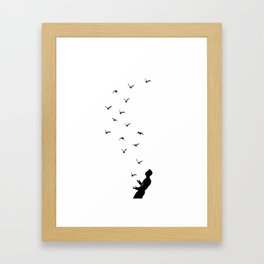 Set Free #society6 #decor #buyart Framed Art Print