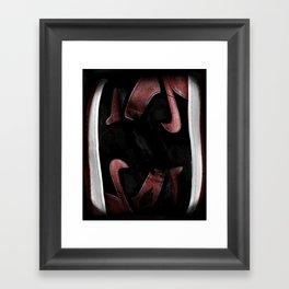 Banned Jordans Framed Art Print