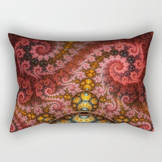 Unending dragon spiral Rectangular Pillow
