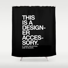 THIS IS A DESIGNER... Shower Curtain