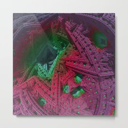 go mandelbulb -1- Metal Print