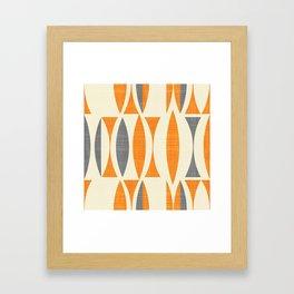 Seventies  orange Framed Art Print