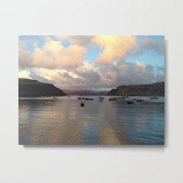 Portree Harbour Metal Print