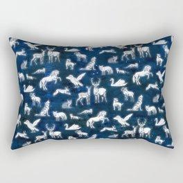 Patronus pattern Rectangular Pillow