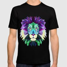 Lion Mens Fitted Tee 2X-LARGE Black